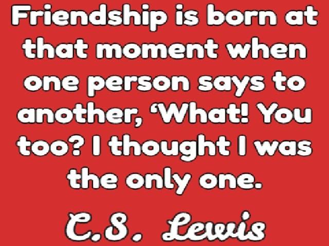 immagini sull'amicizia in inglese