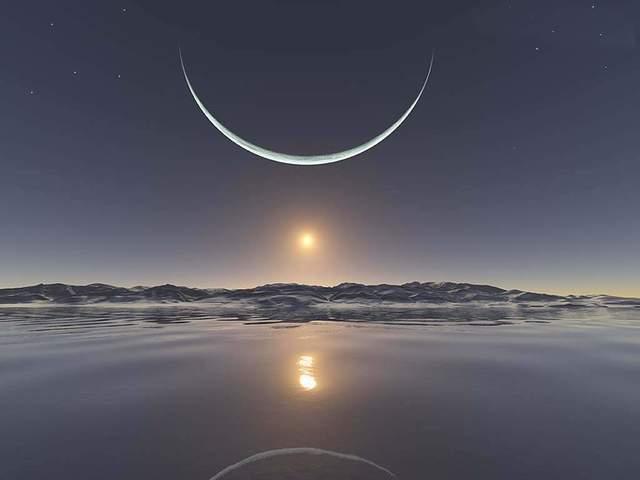 immagini sulla luna