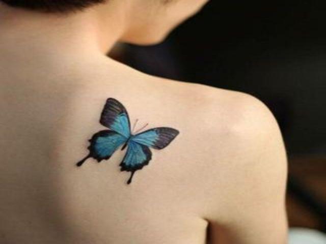 immagini tatuaggi farfalle