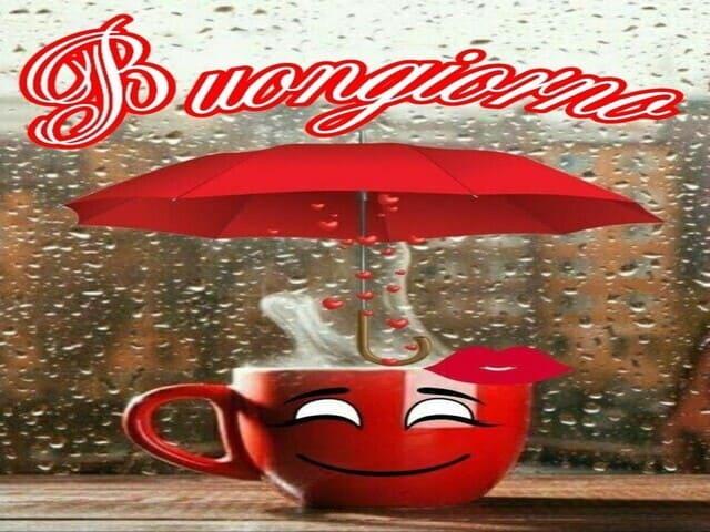 pioggia buongiorno