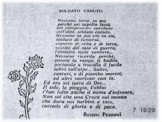 poesie guerra