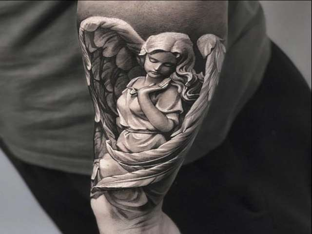 tatuaggi angeli immagini