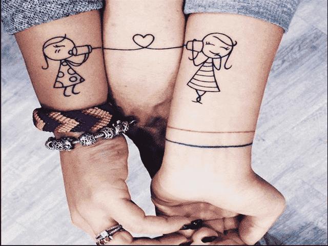 tatuaggi figli