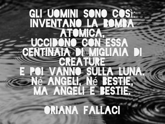 aforismi di Oriana Fallaci