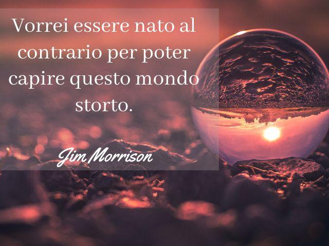 aforismi sulla vita Jim Morrison