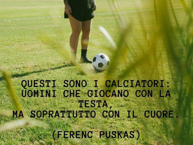 belle frasi sul calcio