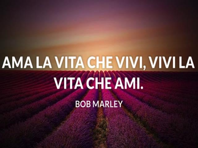 frasi belle di bob marley