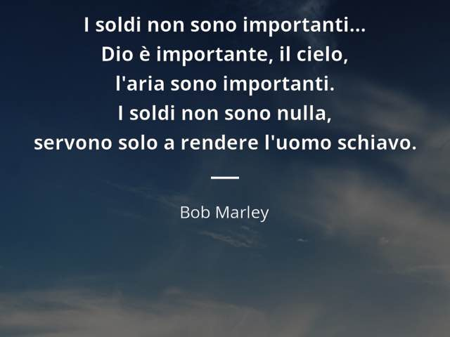 frasi bob marley italiano