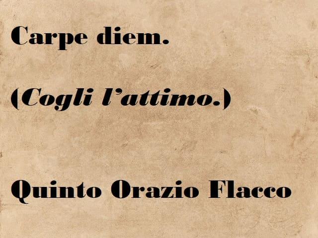 frasi brevi in latino
