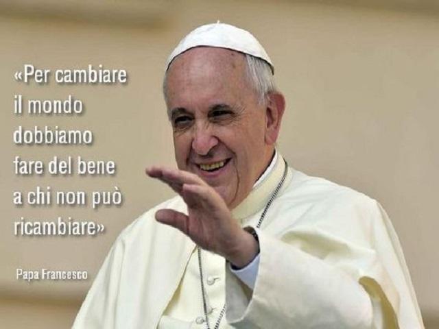 frasi che fanno riflettere papa francesco