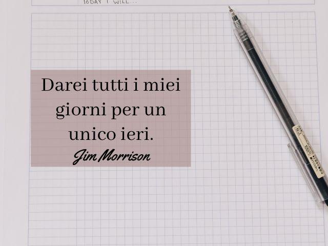 frasi di Jim Morrison da tatuare