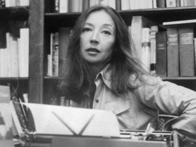 frasi donne Oriana Fallaci