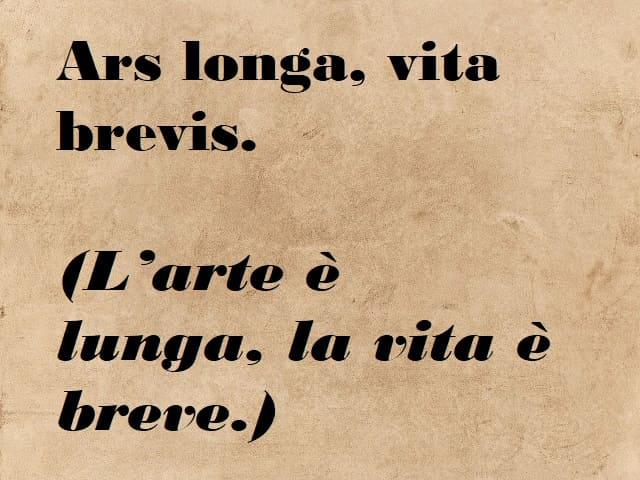 frasi fatte in latino