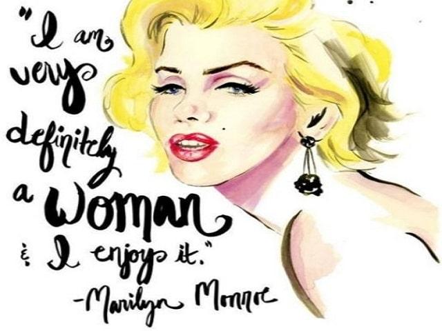 frasi Marilyn Monroe rossetto