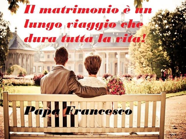 frasi papa francesco matrimonio