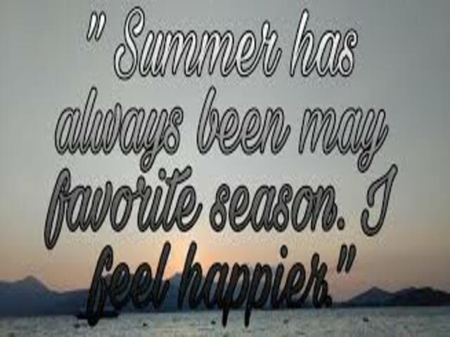 frasi sull'estate in inglese 7