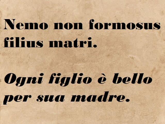 frasi sulla famiglia in latino