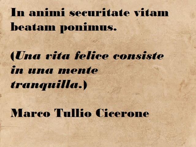 frasi sulla vita in latino