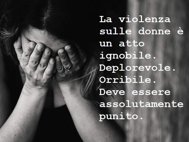 giornata contro la violenza sulle donne frasi