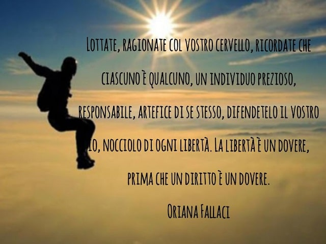 immagini con frasi Oriana Fallaci