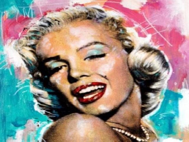 immagini Marilyn Monroe pop art