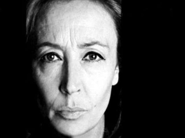 Oriana Fallaci frasi e immagini