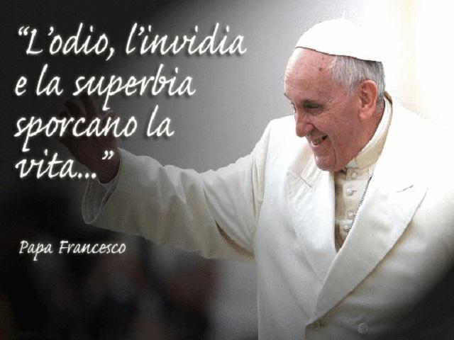 papa francesco frasi celebri