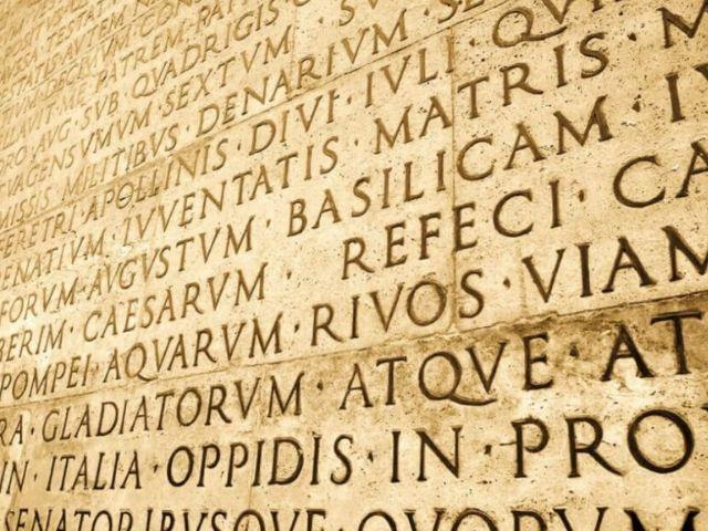 Frasi celebri e famose in latino