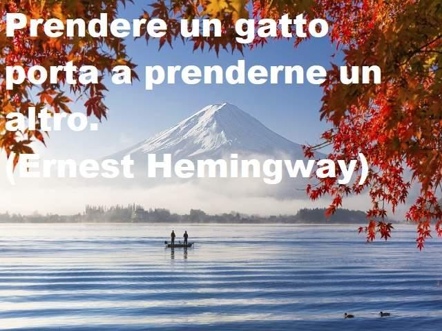citazioni di hemingway