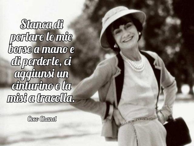 Coco Chanel frasi e immagini