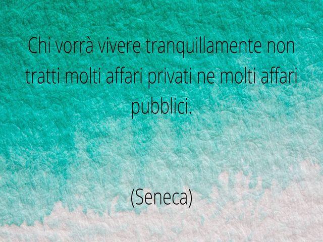 frase di seneca
