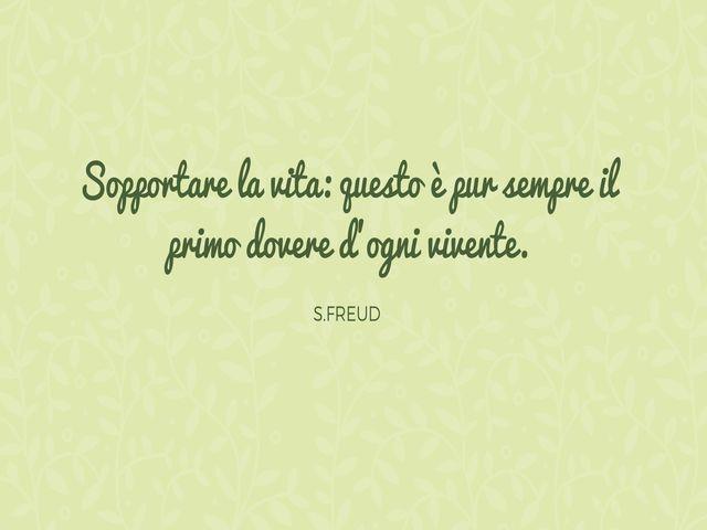 frasi follia Freud