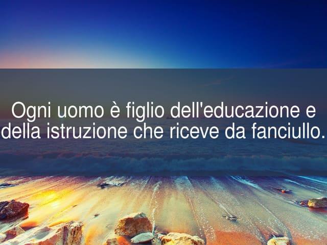 frasi sull educazione