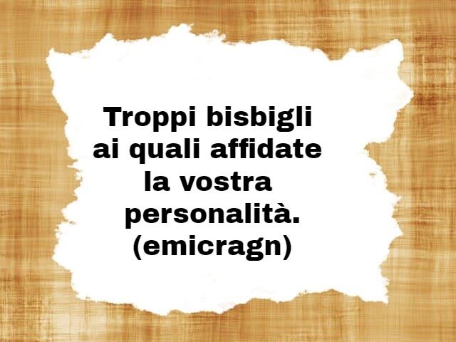 frasi sulla personalità