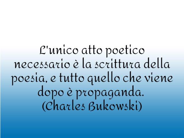 immagini e frasi bukowski