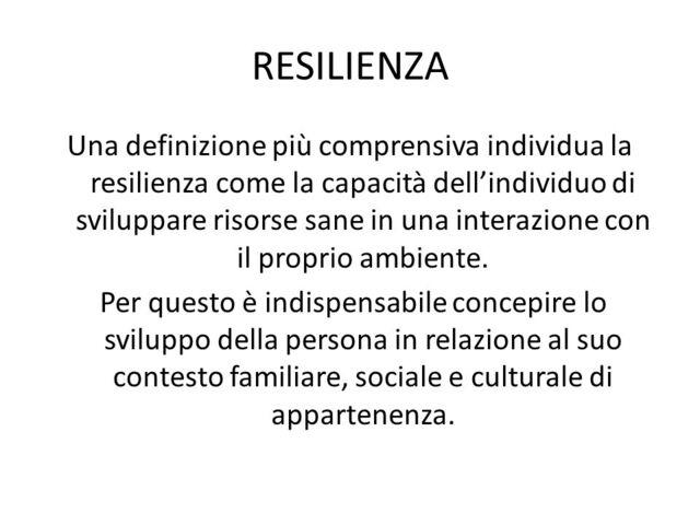 resilienza citazione