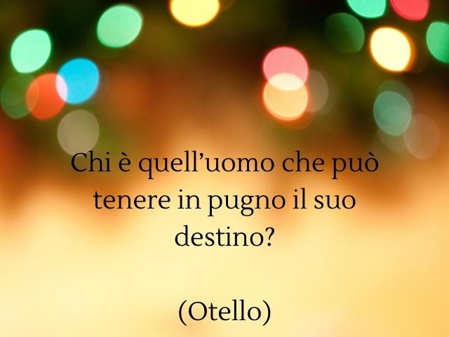 frasi belle di shakespeare