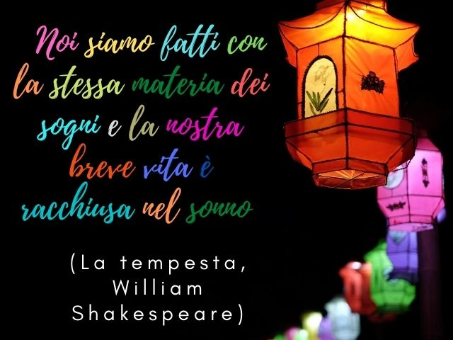 frasi belle shakespeare