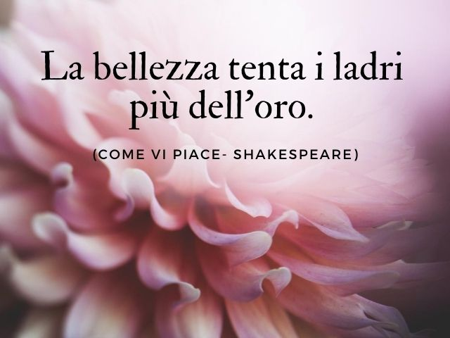 william shakespeare frasi d amore