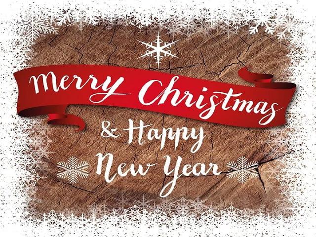 immagini di buon natale e felice anno nuovo