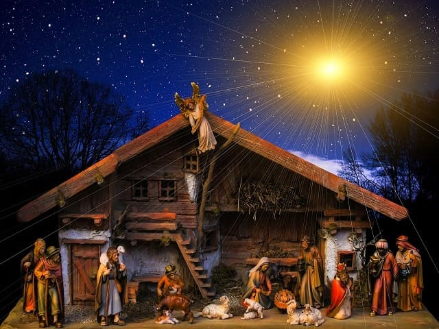 immagini presepe di Natale