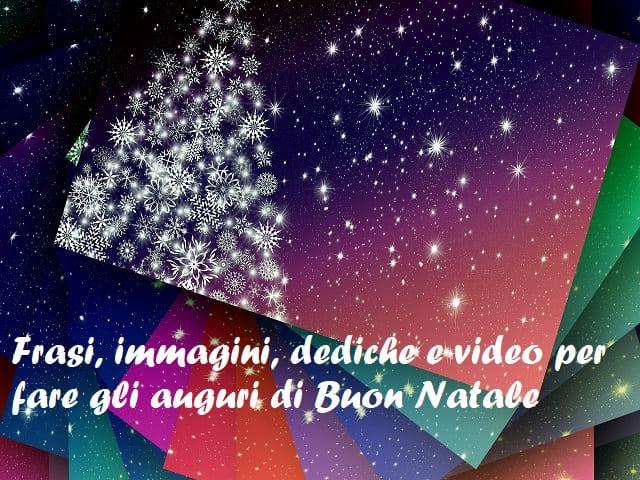 tanti auguri buon natale frasi immagini video
