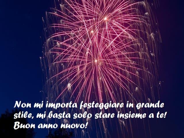 auguri di buon anno per il mio amore