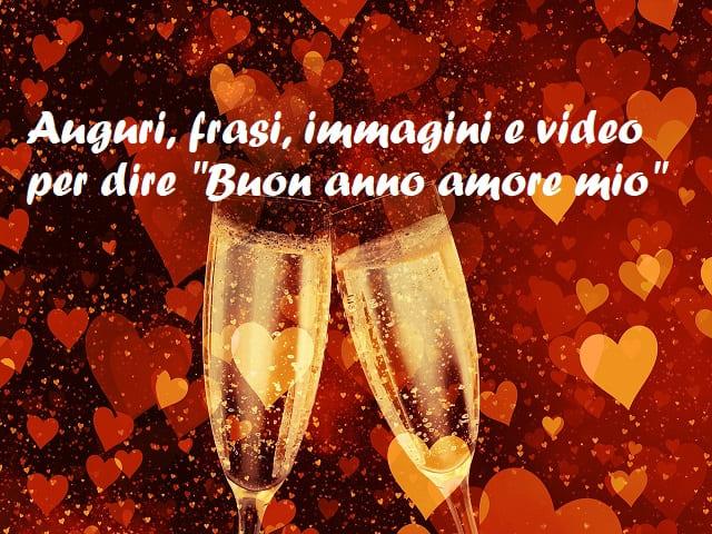 frasi di buon anno amore mio