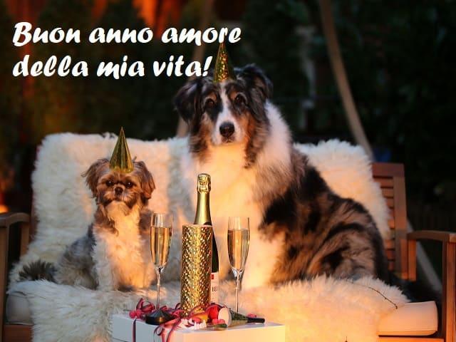 sms buon anno amore