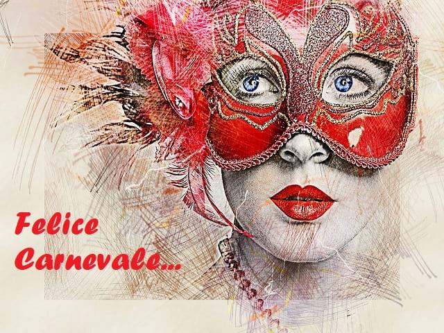 immagini delle maschere di carnevale